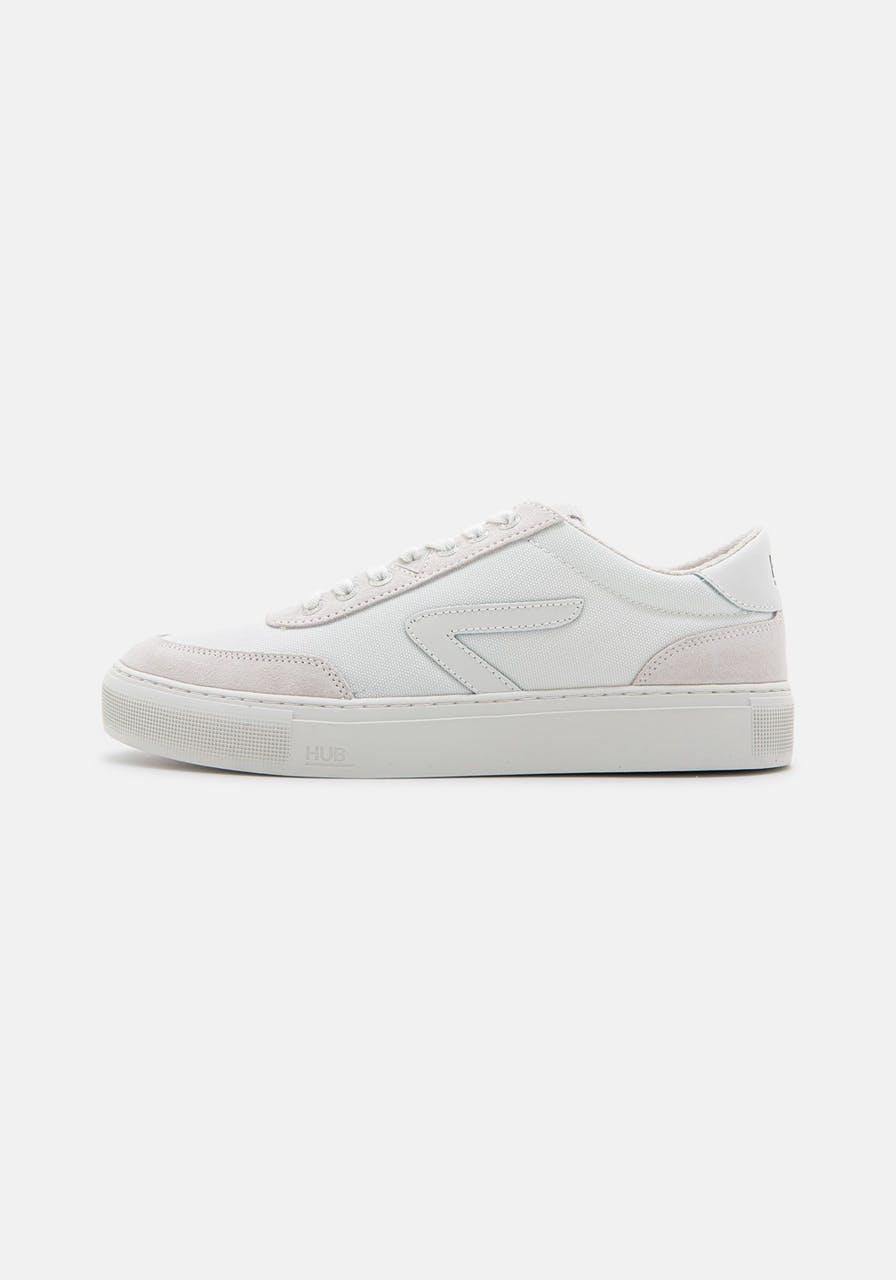 HUB FOOTWEAR Break S34 Suede/Terry Lining wht/offwhit