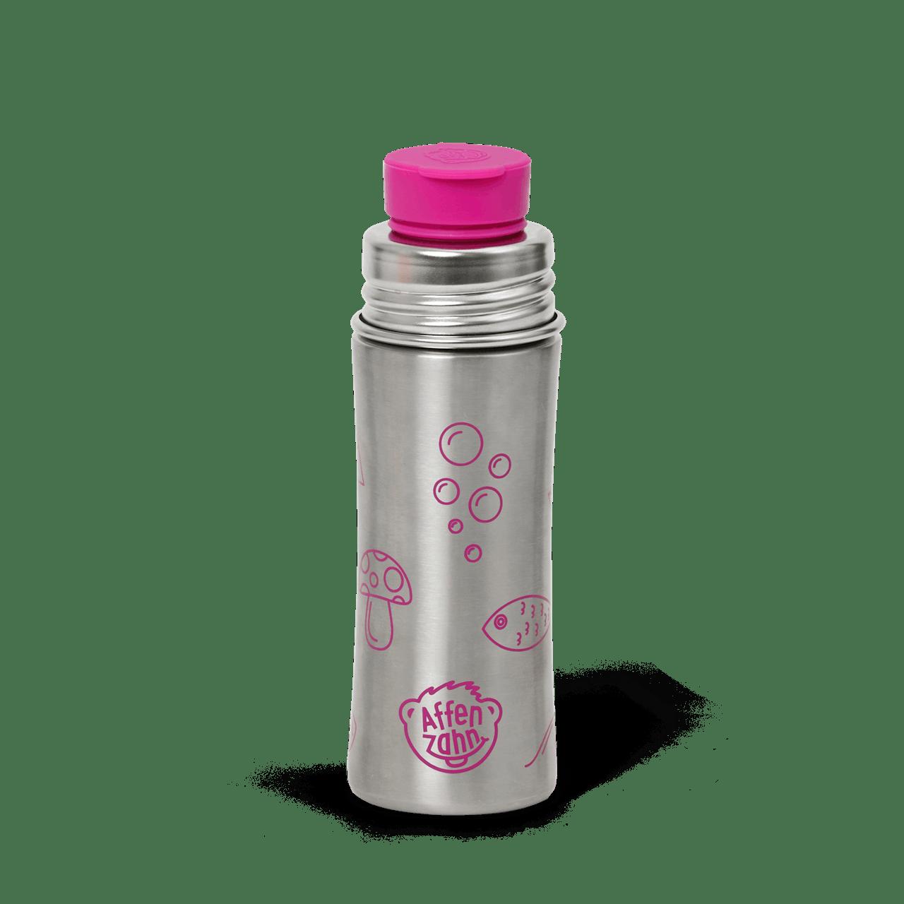 AFFENZAHN Trinkflasche Lila