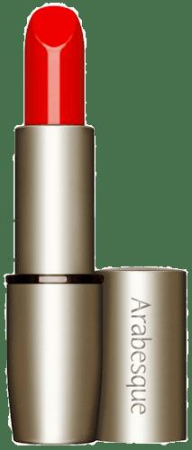 Perfekter Kussmund mit dem ARABESQUE Perfect Color Lippenstift Nr.  21 - Gala Rot