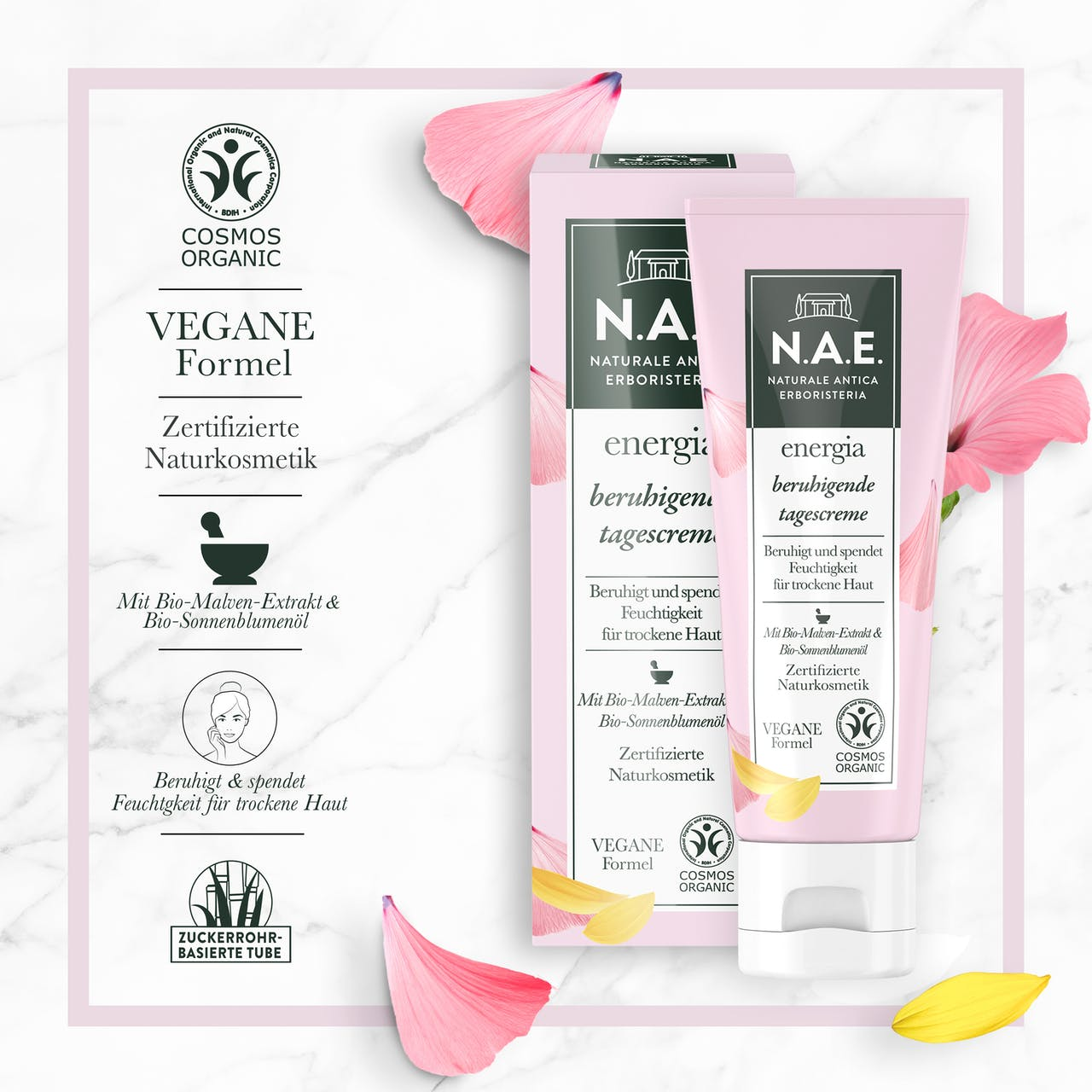 energia beruhigende tagescreme | soothing day cream