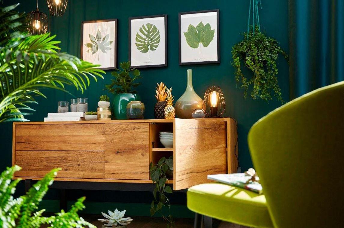 Eine Neue Wandfarbe Im Wohnzimmer Sorgt Fur Frischen Wind