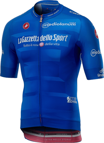 Maglia Azzurra Gira d'Italia 2019