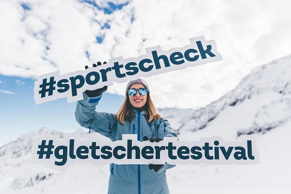SportScheck Gletscher Testival in Stubai