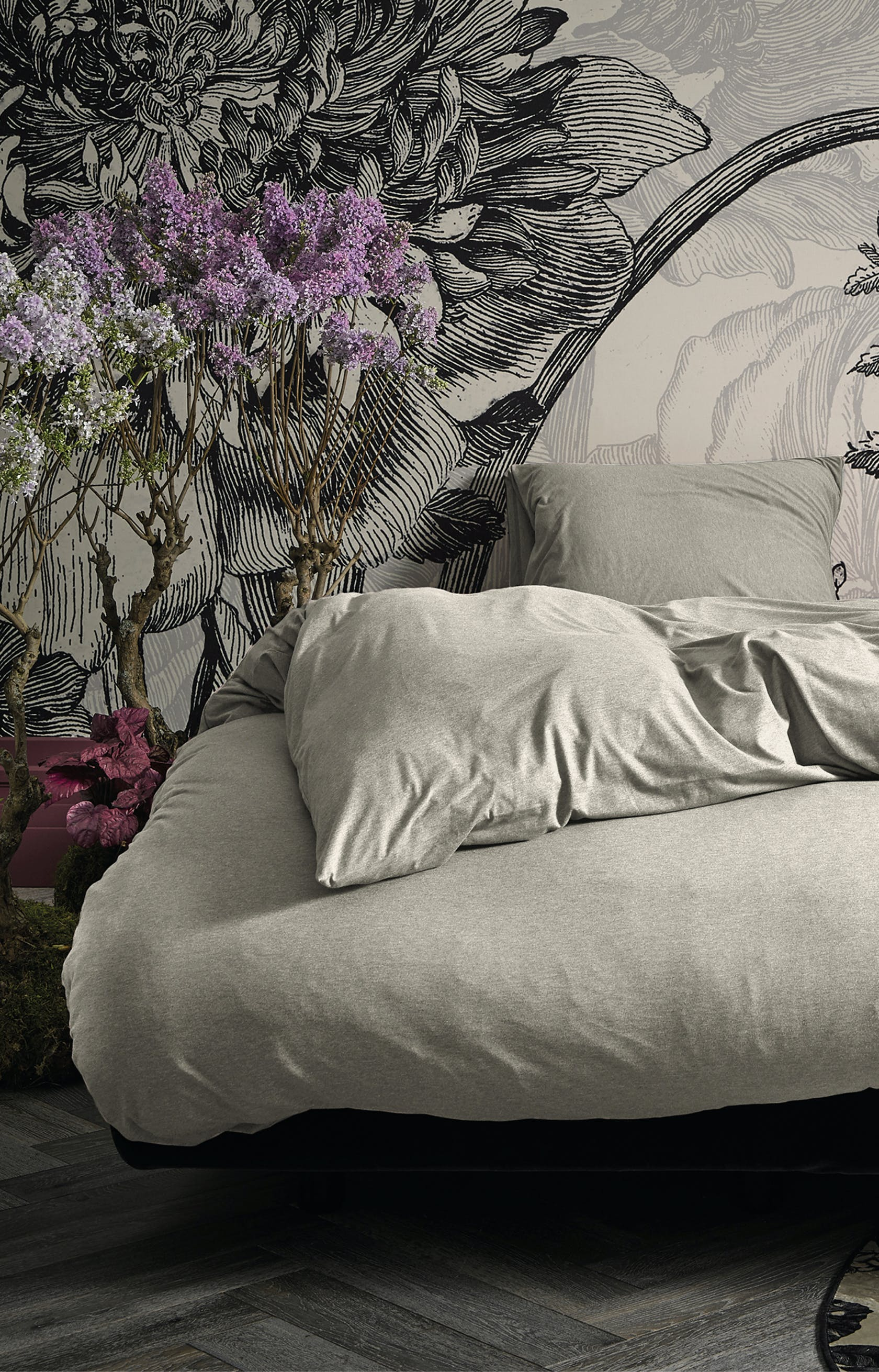 ESSENZA Otis White Duvet Cover