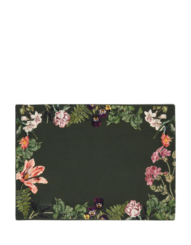 ESSENZA Gallery Donkergroen Placemat 35 x 50 cm