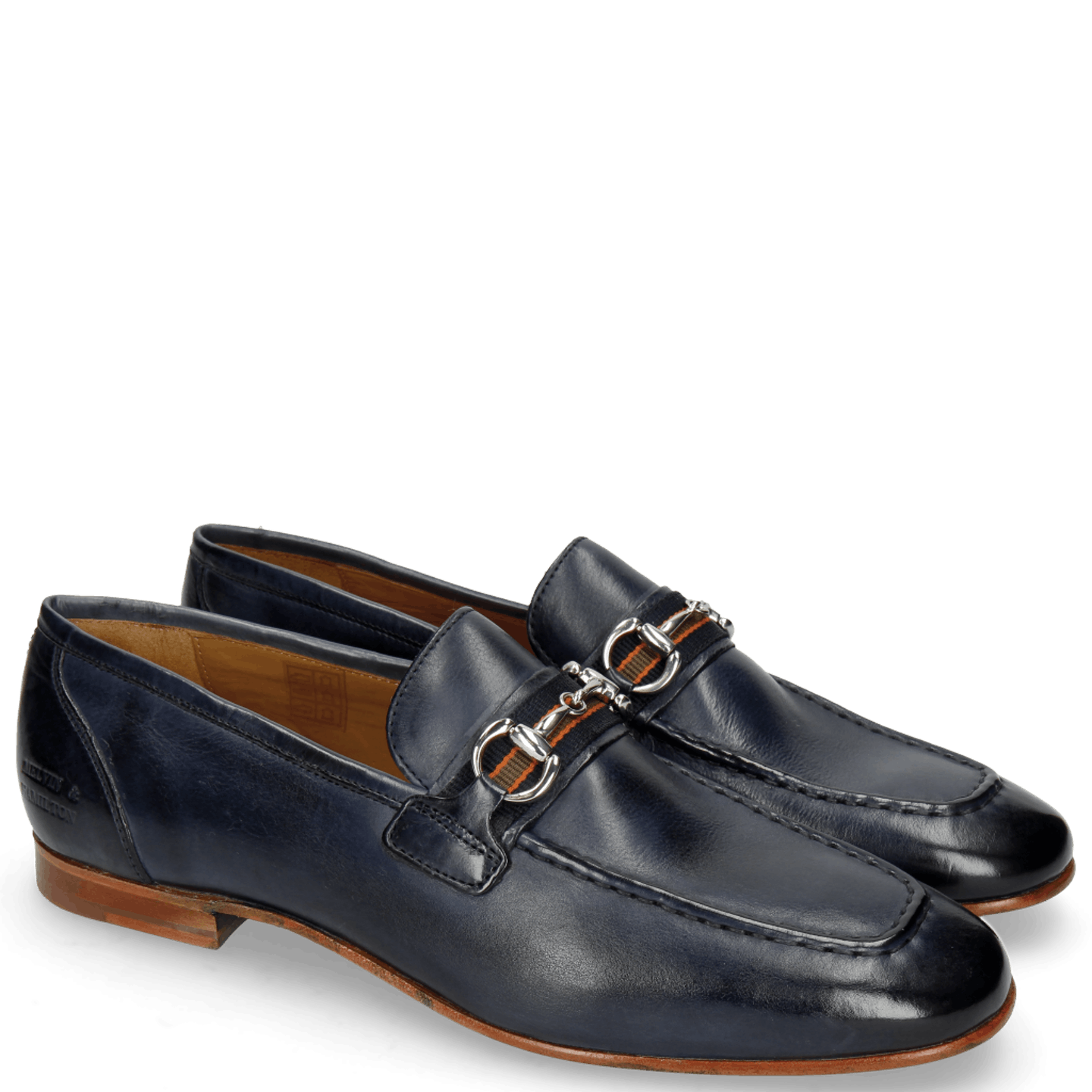 Clive 16 Indus Navy Strap Navy Orange