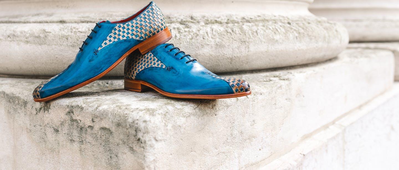 Gevlochten Oxford-schoenen voor heren Melvin & Hamilton