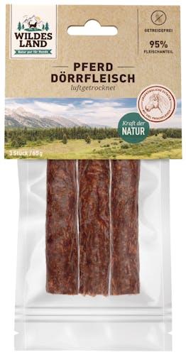Wildes Land - Kausnack - Pferde Dörrfleisch (getreidefrei)