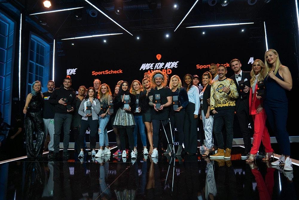 Preisträger und Laudatoren des Made for More Award 2019