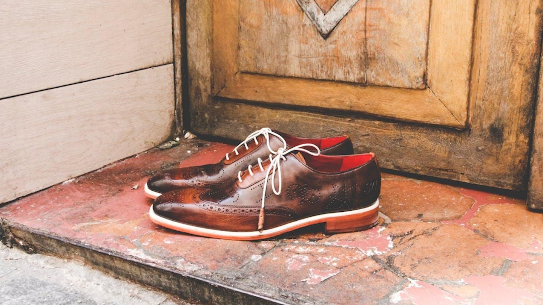 Oxford Schuhe Melvin & Hamilton