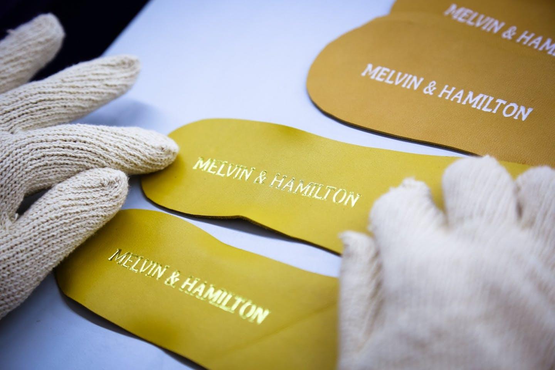 Herstellung Melvin & Hamilton