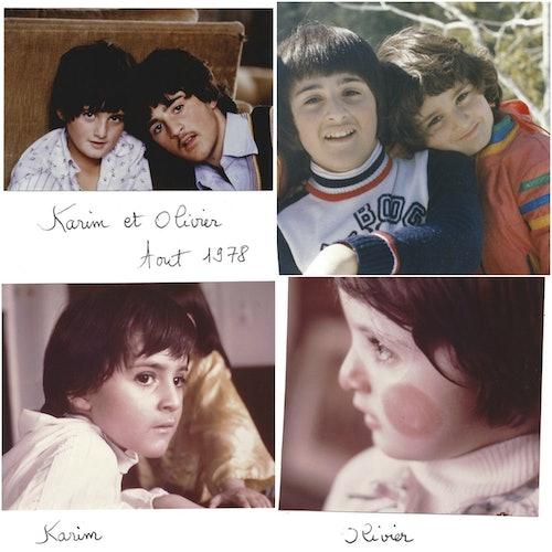 Die Kindheit von Karim und Olivier Choukair