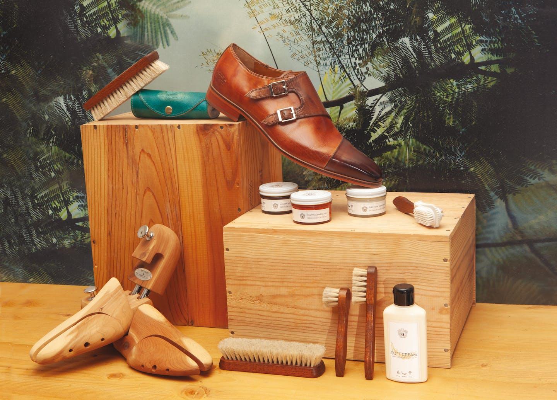 Produkte zur Lederpflege Melvin & Hamilton