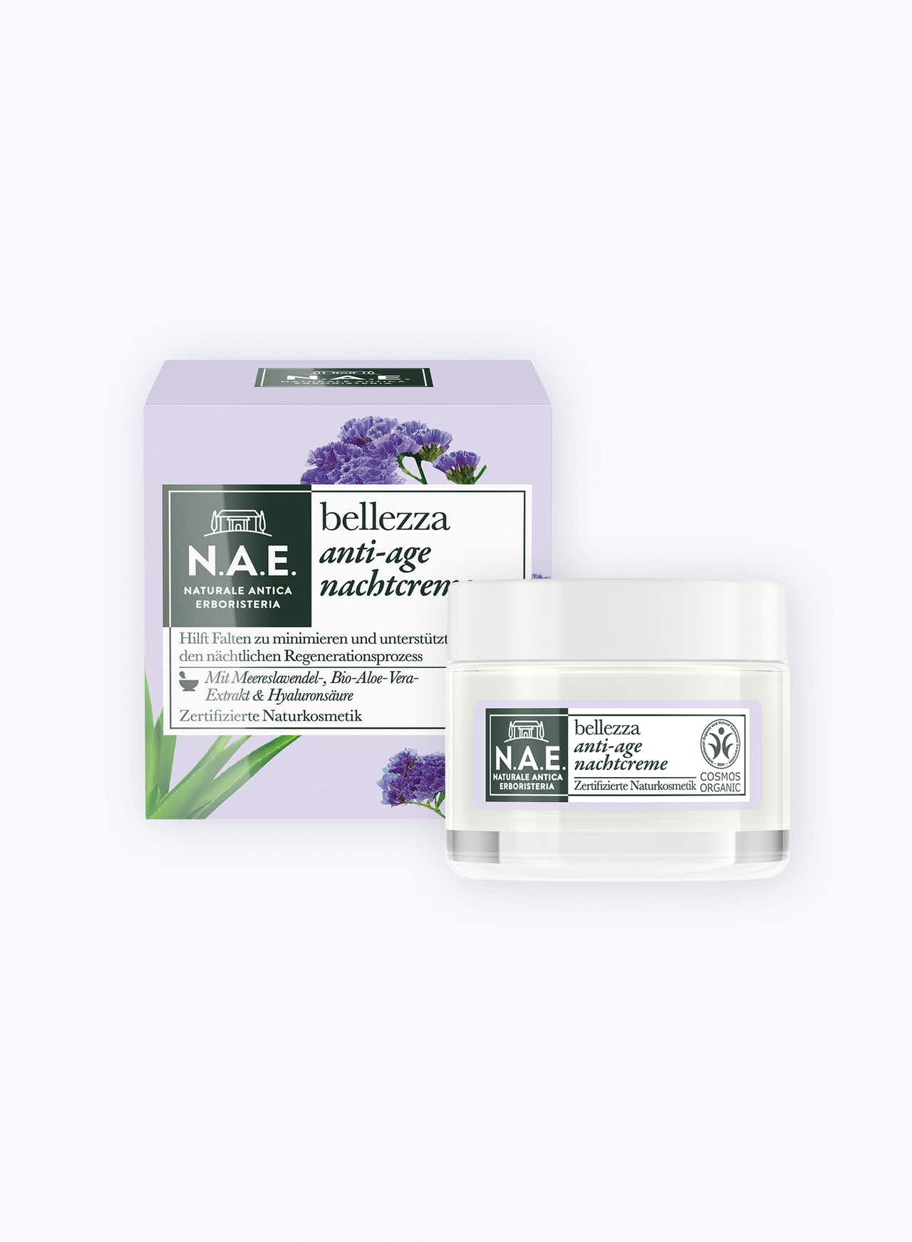 bellezza anti-age nachtcreme, 50ml