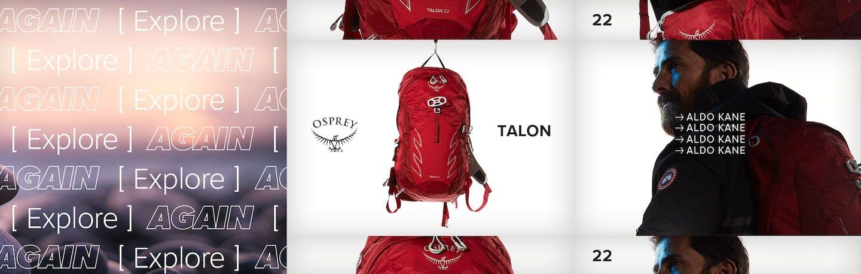 Aldo Kane, Osprey brand ambbassador
