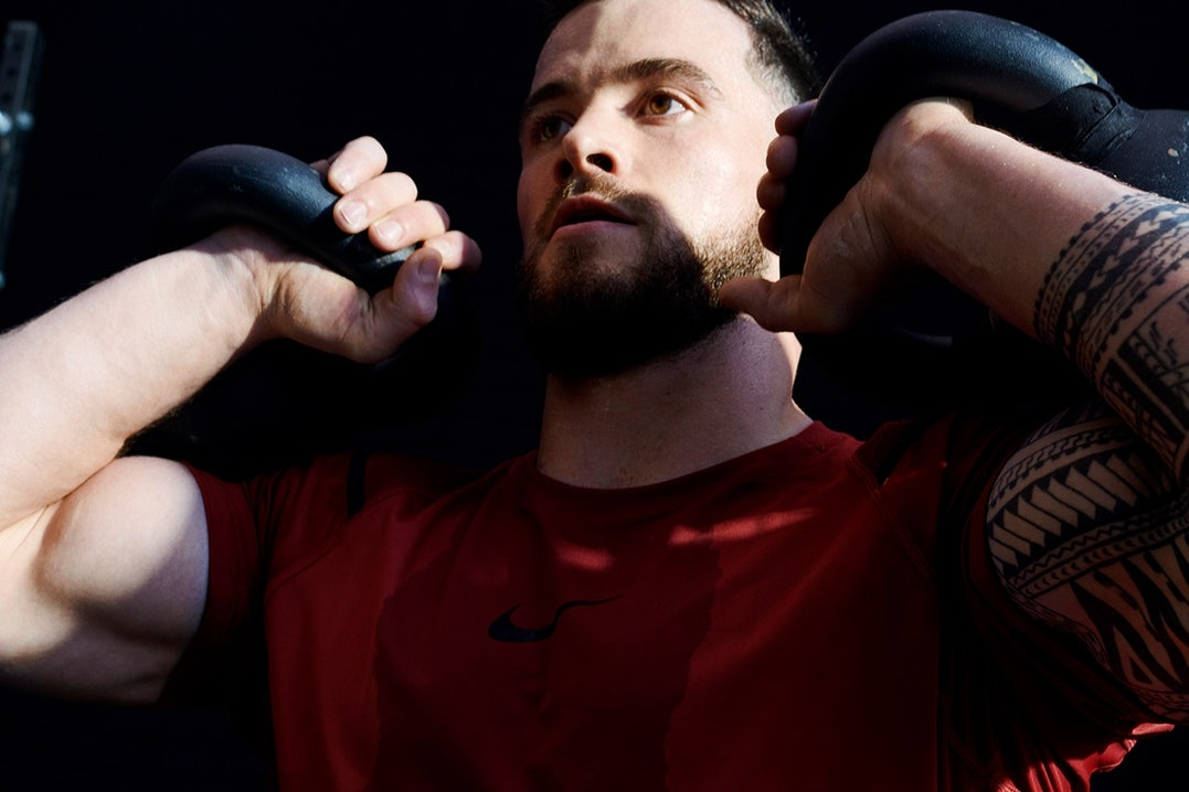 Nike Pro beim Krafttraining