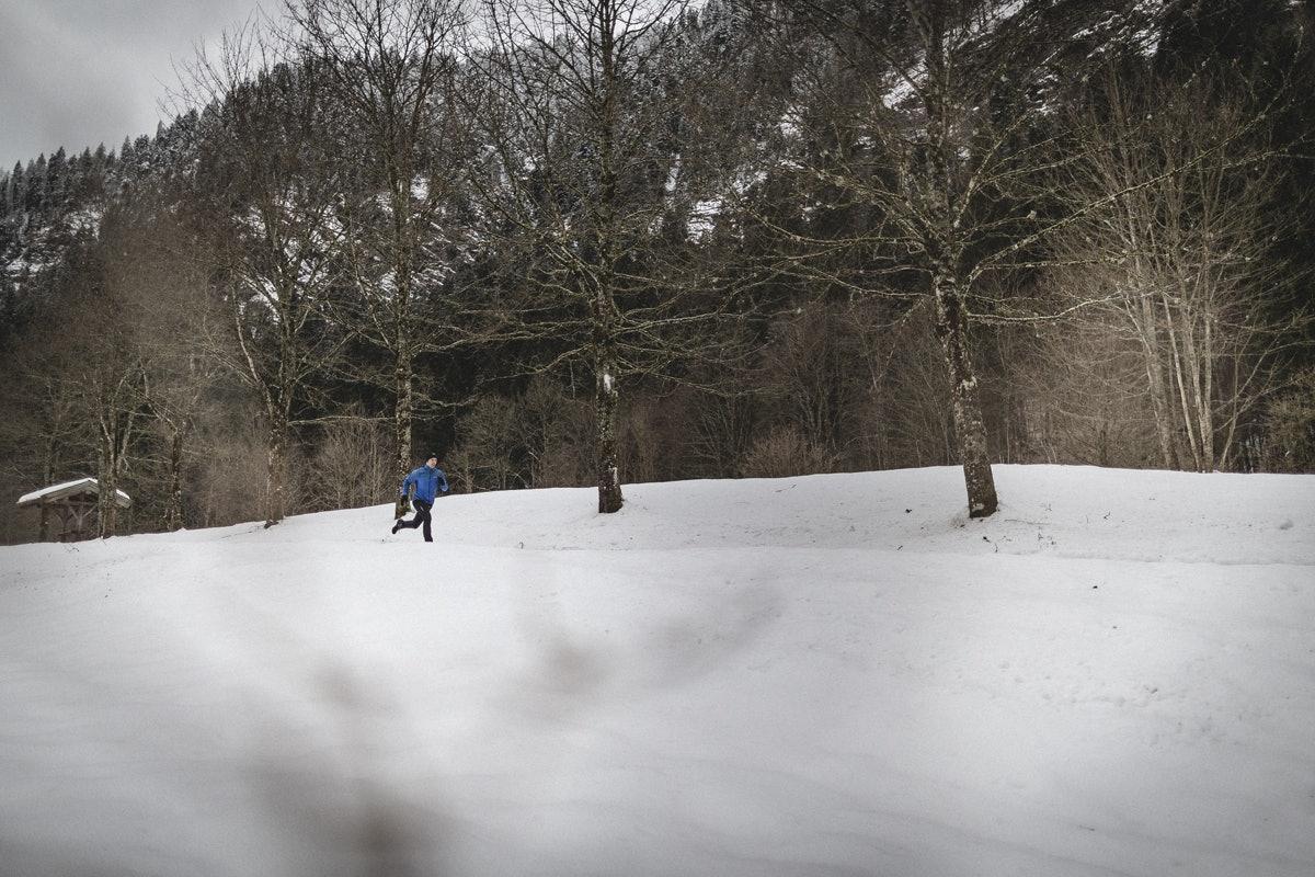 Winterlaufschuhe on cloudventure