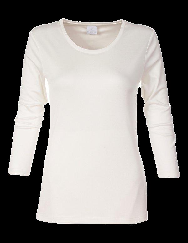 Shirt aus Seide und Baumwolle