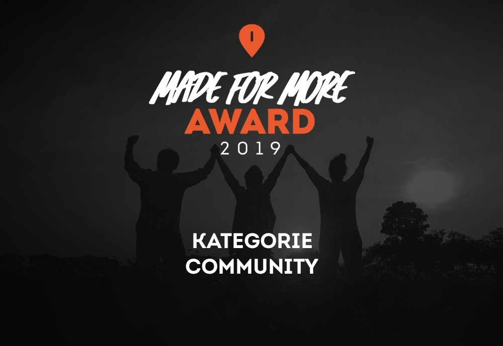 Made for More Community Award