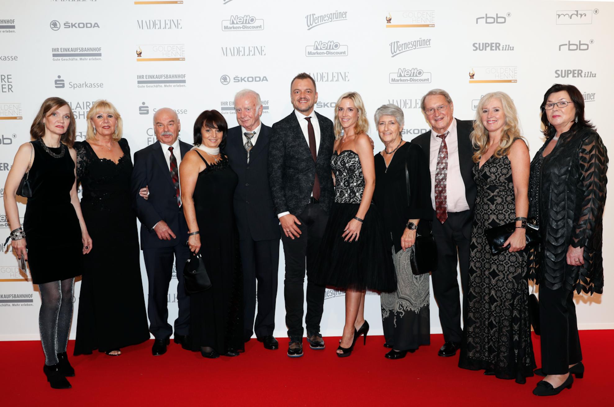 Die Gewinner vom letzten Jahr mit MADELEINE Geschäftsführer Volker Valk (Mitte)