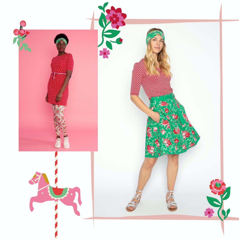 Die schönsten Outfitsaus der Farbwelt Springtime Carousel