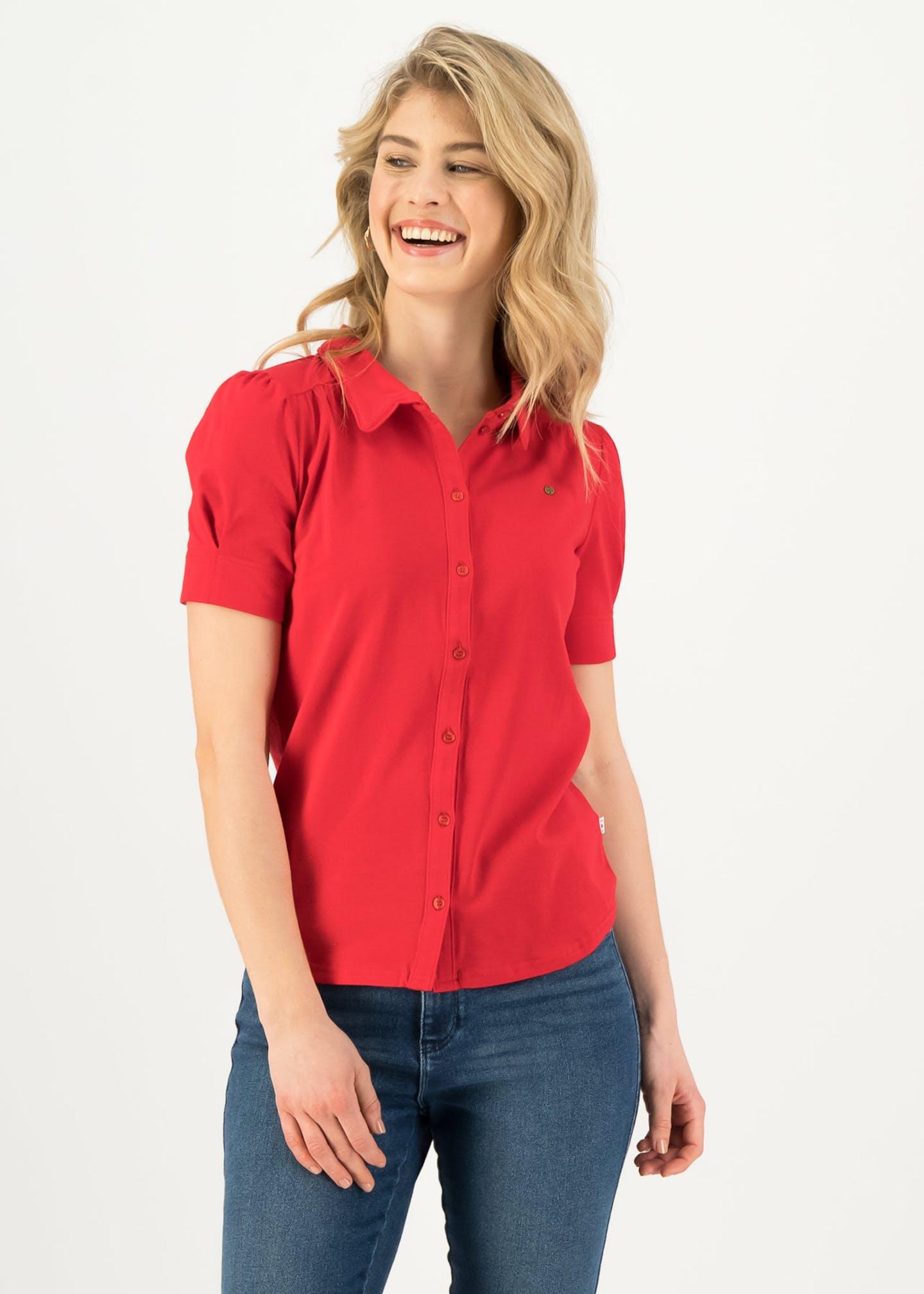 logo blouse