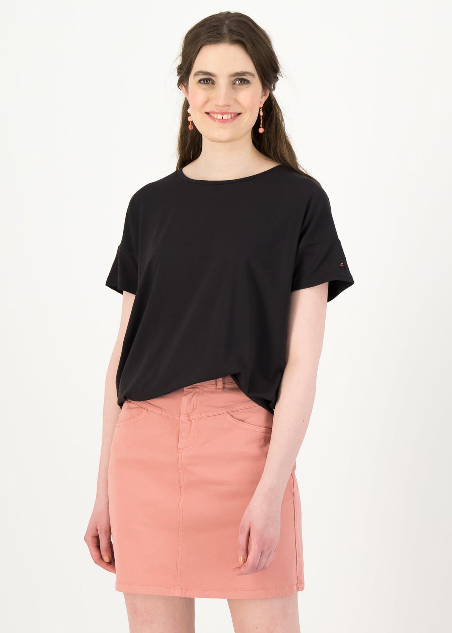 logo high waist skirt