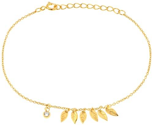 Ce Bracelet CLEOR est en Argent 925/1000 Jaune et Oxyde