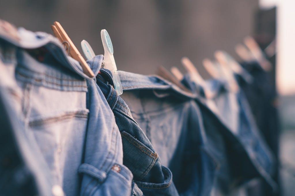 Levi's Chef Bergh: Jeans nicht waschen Stil