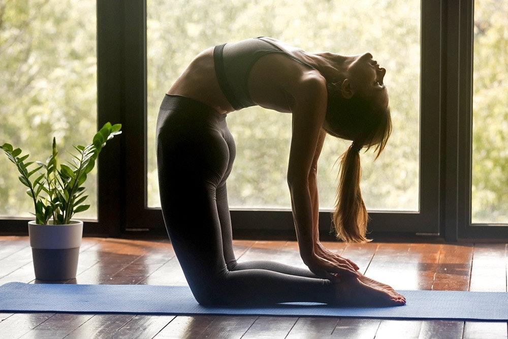 Yoga gegen Erkältungen: Kamel