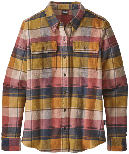 PATAGONIA Long-Sleeved Fjord Flannel - Damenbluse