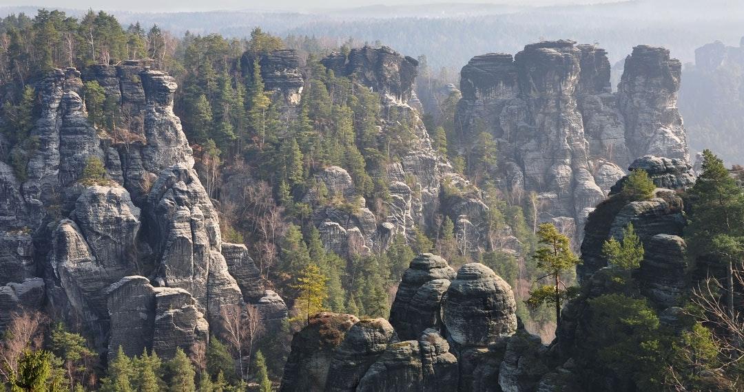 Klettern am Elbsandsteingebirge