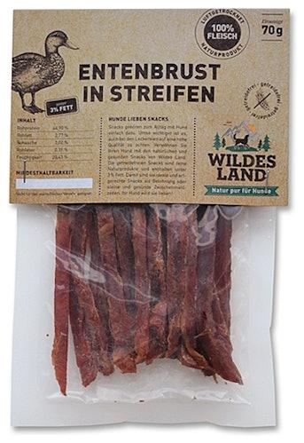 Wildes Land - Kausnack - Entenbrust in Streifen (getreidefrei)