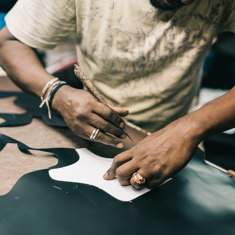 Zrównoważona produkcja buty galanteria