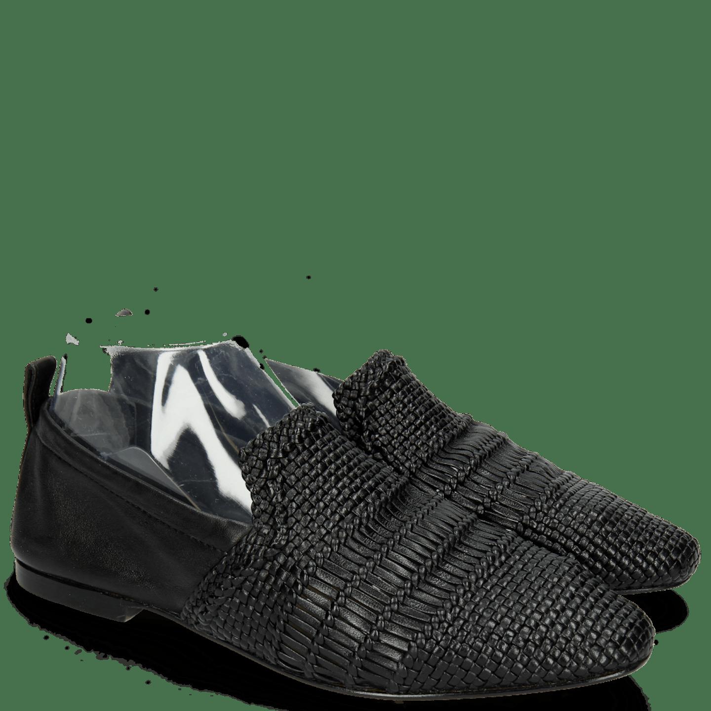 Hailey 1 Mignon Black Glove Nappa