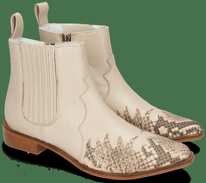 cowboy boot motif de serpent