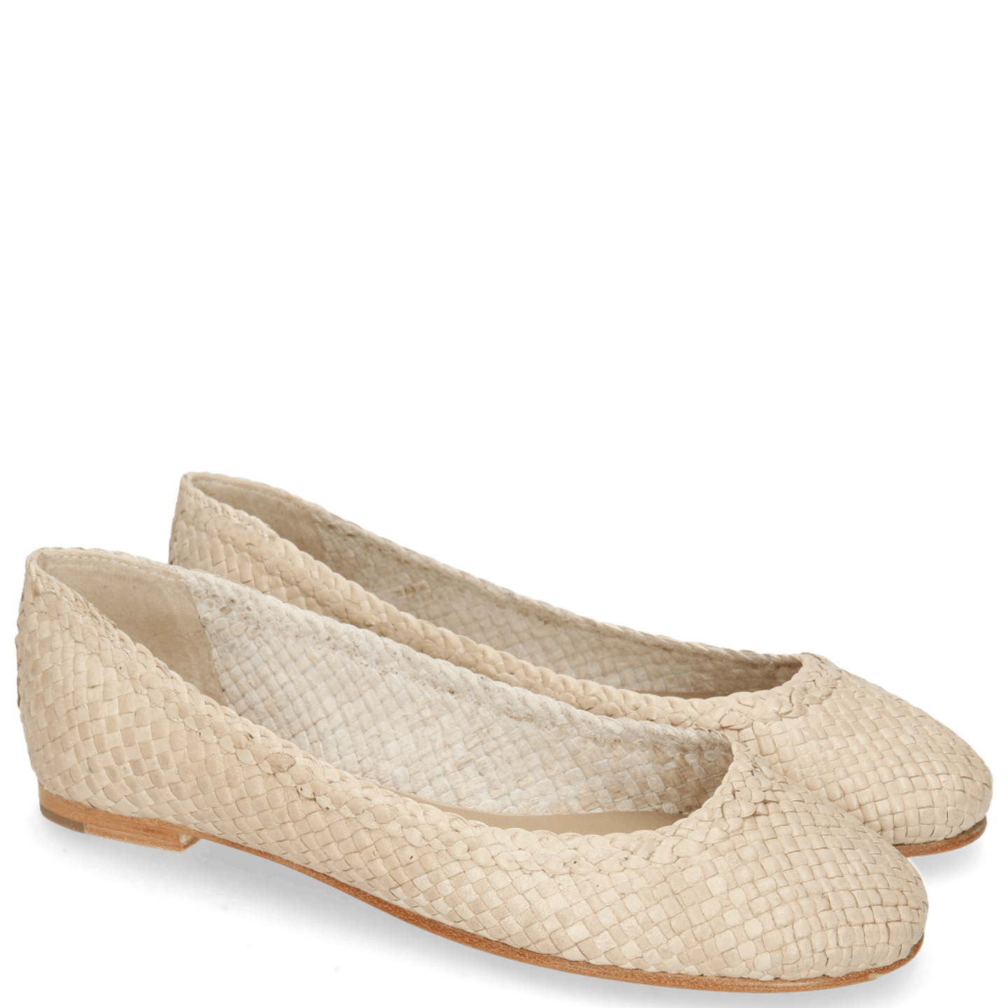 Kate 5 Woven Off White Natural