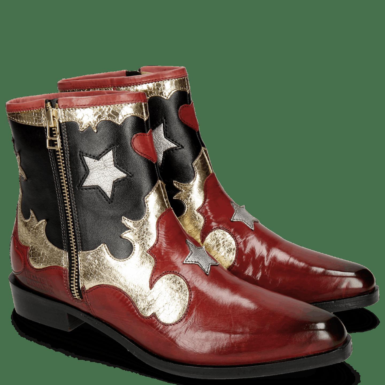 cowboylaars rood