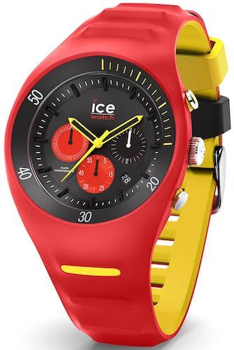 Cette montre ICE-WATCH se compose d'un boîtier Rond de 46.5 mm et d'un bracelet en Silicone Rouge