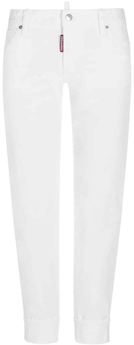 Dsquared2, Jeans, Denim, Spring-Summer Collection 2019, white, Lodenfrey, Munich