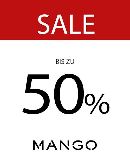 Mango: Sale bis zu 50% Plakat