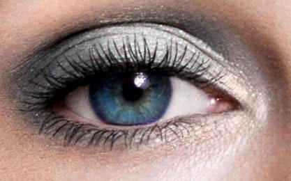 Augen: Tages Make up-kalter Farbtyp