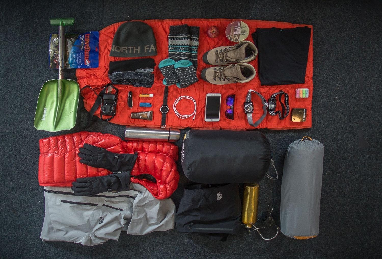 Biwak ausrüstung