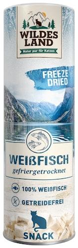 Wildes Land - Katzensnack - Freeze Dried Snack Weißfisch (getreidefrei)