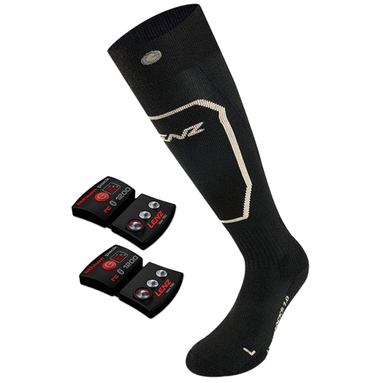Set Lithium pack rcB 1200 + heat sock 1.0 slim fit