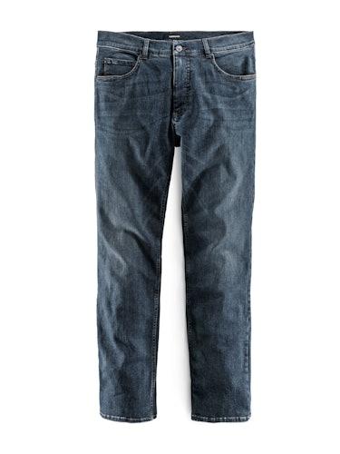 Jeans mit leichter Waschung.