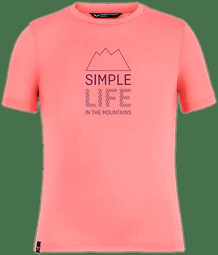 Salewa Simple Life Dri-Rel - T-Shirt - Kinder
