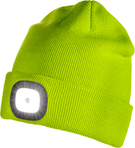 ICEPORT Led Beanie Lighty - Wollmütze mit Lampe