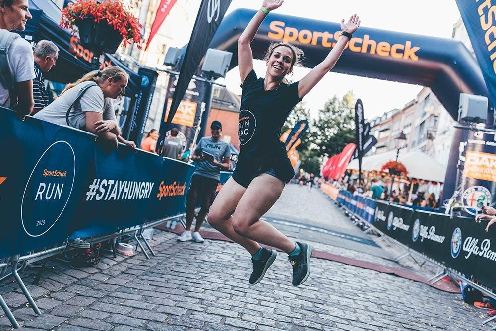 SportScheck Run Läuferin in Aachen