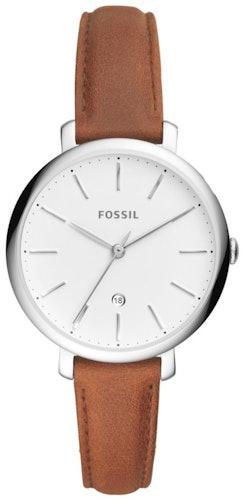 Cette montre FOSSIL se compose d'un boîtier Rond de 36 mm et d'un bracelet en Cuir Marron